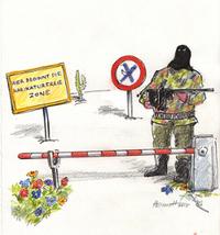 Karikaturfreie Zone
